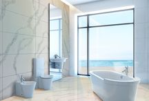 Bathrooms | Calacutta Luna