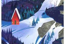 Fjell og hytte