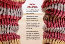 knitting with m loom / by Jeanne Burns