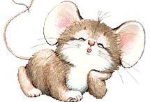 Print - Souris, mouse
