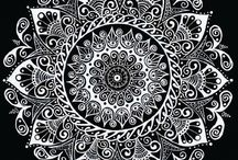 Original Mandalas by Erin Spring / These are all Original pieces, made by me using all archival materials. / by Erin Spring Art