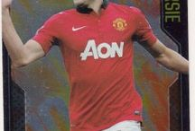 Panini Official Manchester United 2014 Trading Card Collection / YuGiOh Trading Cards  Pictures of some of the Panini Manchester United 2014 Trading Cards now available from our website http://www.silverbacksmonkeyhouse.co.uk