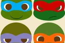 Tortugas Ninja / by Eva Moriel