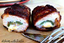 Kochen / Bacon chicken