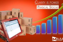 Physical Stocks / MAXX: Clarity is power.  Physical Stocks:  Physical Stock is a part of inventory module which is used to directly update the actual stock position which is physically available in the store/warehouse on a specified date... http://maxxerp.blogspot.in/2013/08/maxx-clarity-is-power.html