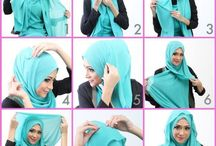 Hijab Look / How to make a look for hijab girls