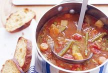 Soups / by Leslie V