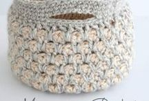 Crocheted pattern