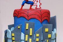 Spiderman by Francesca / Cake Design