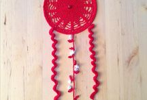 Dreamcatchers / I make crochet dreamcatchers with a spiritual touch. Searching this board and be inspired