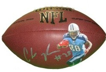East Carolina Pirates Autographed Football Collectibles / Welcome to my selection of autographed East Carolina Pirates footballs & more. We at Southwestconnection-Memorabilia offer a wide variety of autographed NCAA collectibles including Footballs, Full Size Helmets, Mini Helmets, Jerseys, Pylons & Lithos! Please check out my website: www.AutographedwithProof.com for additional autographed memorabilia, including MLB, NFL, NHL, NBA and more! All items include photographic proof of our encounter with the athlete to insure authenticity!