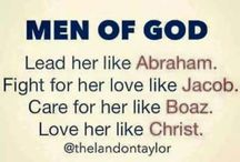 Be the MAN of GOD