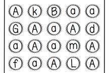 Abeceda - písmena (Letters)