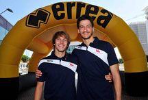 Presentazione Errea / Presentato il nuovo partner tecnico Errea presso Prodi Sport Pesaro.