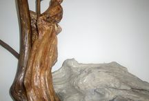 Nature's Art Studio / My creative projects using wood, driftwood, branches and roots. My nature inspired art. / by Francine Barrette