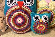 ÖRGÜ MOTİFLERİ / Baykuş ve benzeri motifler.Ayrıca kenar ve süsleme modelleri.