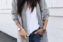 Fashion & Street style ( Cardigan, Sweater, Knit)