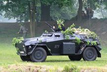 WW2 - SDKFZ 247 / Anarmored command car used by theGerman Armed Forces