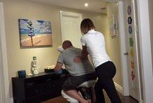 Massage sur chaise Esprit Zen