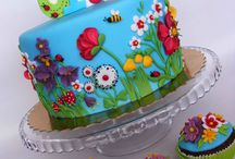 birthday cakes / by Donna Fralick