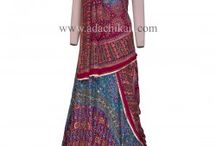 Chikan Lehngas / Be it a marriage or a party- A #Pure #georgette #Lehenga is always the pride of a #ladies collection.