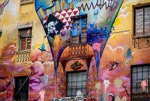 Murales/graffiti/street art