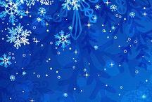 blue snow <3