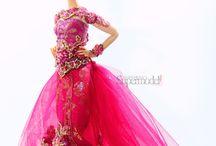 Indonesian barbie figures