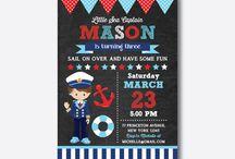 Nautical birthday