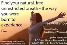 Events / Come learn about natural healing from a leading holistic MD.  Heal yourself at home without expensive doctors's visits or painful side effects.  Nutrition, juicing, herbal cleanses, aromatherapy, emotional healing, etc.