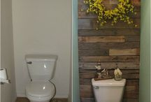 Bathroom idea / by Laura Anderson