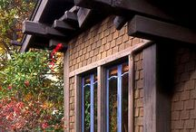 Craftsman Homes / Arts and crafts era. / by Larry Ellis