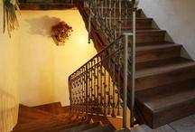 Stair - wrought iron - Scala in ferro battuto / The art of wrougt iron. L'arte del ferro battuto a mano per arredamenti interni o esterni.