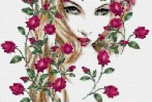 Cross Stitch-People / by Donna Carlino