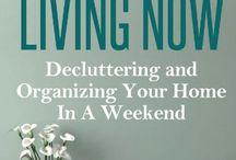declutter & organize
