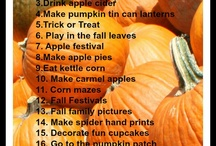 Holidays- Fall & Thanksgiving