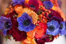 Wildflower Bouquets / Beautiful bouquets that look like they were just picked out of a field