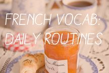 French daily routine