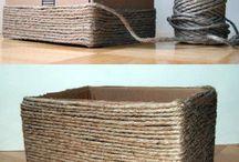 cajas forradas