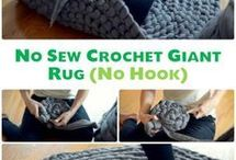 Cozy Chunky Knit and Crochet Love / Crochet and Knit Projects using Chunky, Super Bulky yarn | Extreme Knit and Crochet | Patterns
