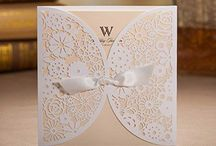 Lovely wedding cards
