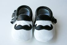 Mia's Moccs / Our 100% Genuine Leather baby and toddler moccasins!