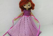 игрушка.куколка.crochet