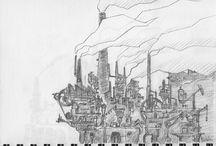 The Factory Project / Comic book project - Projet BD en cours La Fabrique