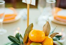 citrus theme party / Citrus theme