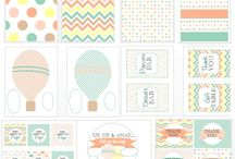 printables for hot air balloon