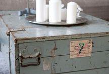 Industrieel vintage landelijk wonen