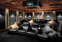 Home Theatre / by HomeGardenDirectory .com