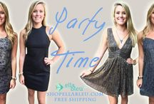 PARTY TIME SEQUINS / Shop here to find your favorite sparkle party outfits! / by Ella Bleu