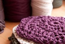 вязание трикотажной лентой